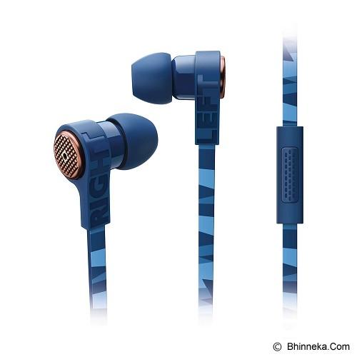 PHILIPS Earphone With Mic [SHE9005 Bl] - Earphone Ear Monitor / Iem